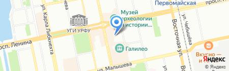 Авто.то на карте Екатеринбурга