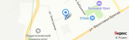 Примо-Урал на карте Екатеринбурга