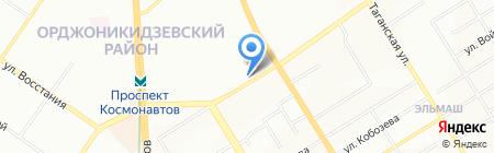 Модный остров на карте Екатеринбурга