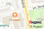 Схема проезда до компании Лайн в Екатеринбурге