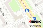 Схема проезда до компании Почтовое отделение №91 в Екатеринбурге