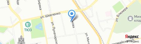 Цветочная Лавка на карте Екатеринбурга