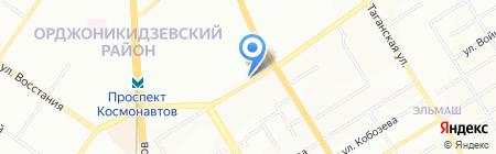 НАРОДНЫЙ на карте Екатеринбурга