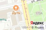 Схема проезда до компании МТС-банк, ПАО в Екатеринбурге