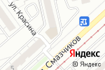 Схема проезда до компании Почтовое отделение №41 в Екатеринбурге