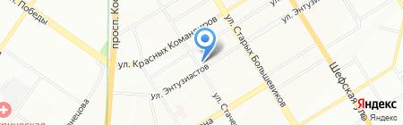 Уралподшипник на карте Екатеринбурга