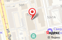 Схема проезда до компании Эй Эс Групп в Екатеринбурге