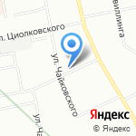 Ambizia на карте Екатеринбурга