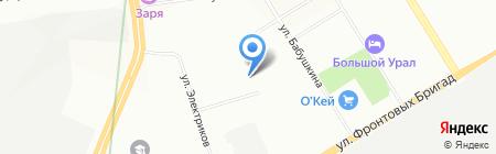 Статус на карте Екатеринбурга