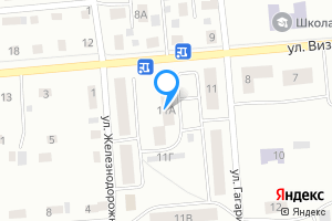 Сдается двухкомнатная квартира в Серове ул. Гагарина, 11А