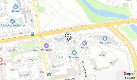 AUTODOC. Схема проезда в Екатеринбурге