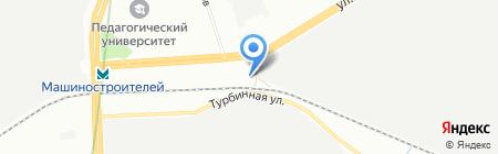 Лесплит на карте Екатеринбурга