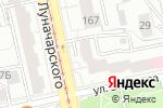 Схема проезда до компании Краснодеревщик в Екатеринбурге