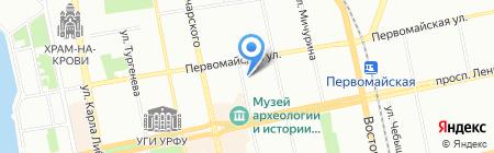 СКОН на карте Екатеринбурга