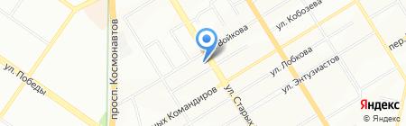 Одежда мегаполиса на карте Екатеринбурга