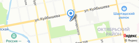 Оптима-строй на карте Екатеринбурга