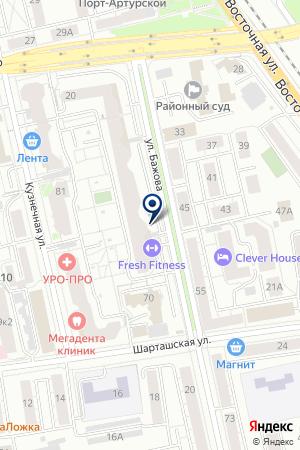 Fresh Fitness на карте Екатеринбурга