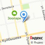 Аква клуб на карте Екатеринбурга