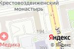 Схема проезда до компании УралЭл в Екатеринбурге