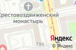 Схема проезда до компании Омега ГРУПП в Екатеринбурге