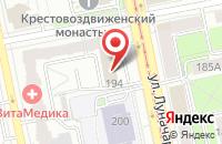 Схема проезда до компании Урал Медиа Холдинг в Екатеринбурге