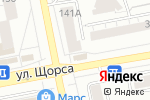 Схема проезда до компании Антрекот в Екатеринбурге