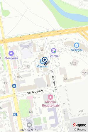 Динамит на карте Екатеринбурга