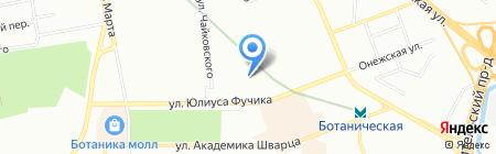 Детский сад №584 на карте Екатеринбурга