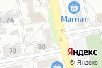 Схема проезда до компании Незнайка в Екатеринбурге