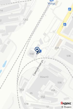 МПТО на карте Екатеринбурга