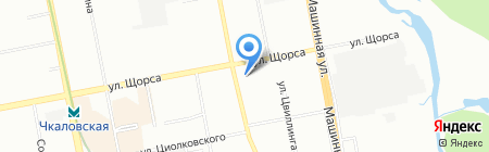 Сокора на карте Екатеринбурга