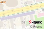 Схема проезда до компании Впрок в Екатеринбурге