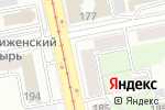 Схема проезда до компании Фактор Права в Екатеринбурге