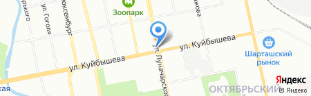ИЛМИ ГРУПП на карте Екатеринбурга