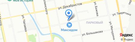 УралХимСервис на карте Екатеринбурга