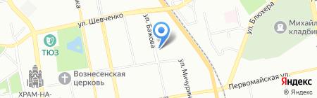 Кировский районный суд на карте Екатеринбурга