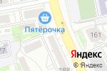 Схема проезда до компании Оптика в Екатеринбурге
