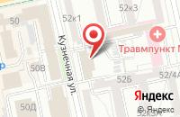 Схема проезда до компании Русский Проект в Екатеринбурге