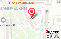 Схема проезда до компании ЛедиБург в Екатеринбурге