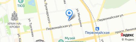 PEGAS Touristik на карте Екатеринбурга
