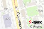 Схема проезда до компании Ресурс Урала в Екатеринбурге