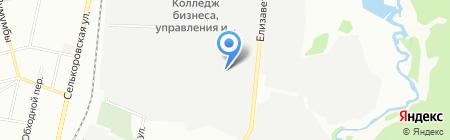 ЕЗИМ на карте Екатеринбурга