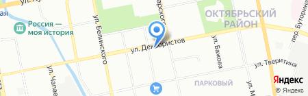 Деревенское подворье на карте Екатеринбурга