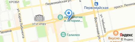 Союз-Мобайл на карте Екатеринбурга