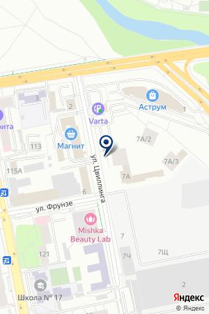 Abigale на карте Екатеринбурга