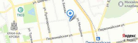 Кузнецов и партнеры на карте Екатеринбурга