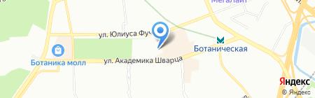 А-class на карте Екатеринбурга
