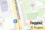 Схема проезда до компании ОТП банк в Екатеринбурге
