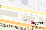 Схема проезда до компании Центр экспертиз и сертификации в Екатеринбурге