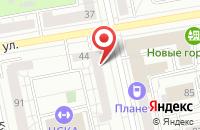 Схема проезда до компании Крылья Мечты в Екатеринбурге